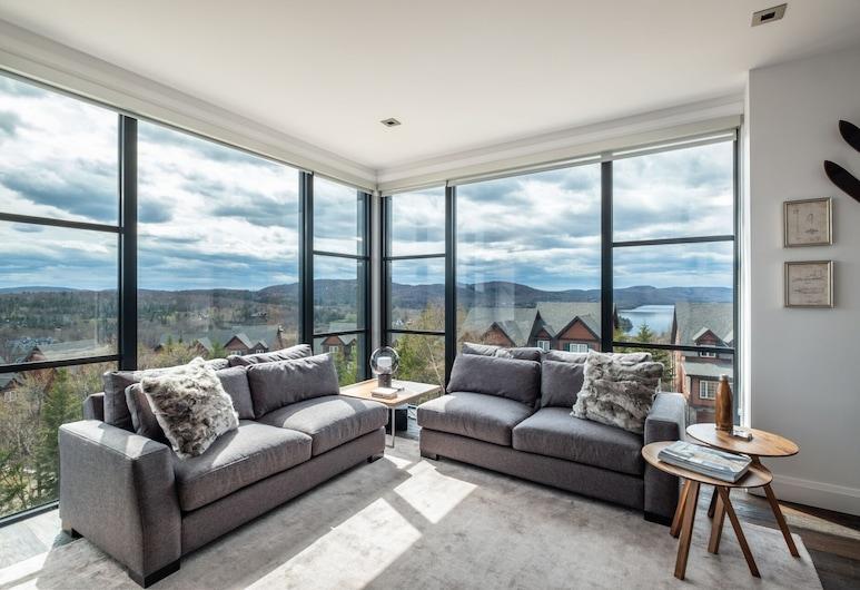 Horizon by Tremblant Platinum, Mont-Tremblant, Soukromý byt, 3 ložnice, 2 koupelny, Obývací pokoj