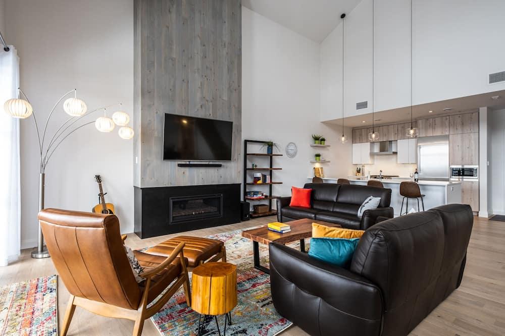Mieszkanie, 4 sypialnie, kuchnia - Salon