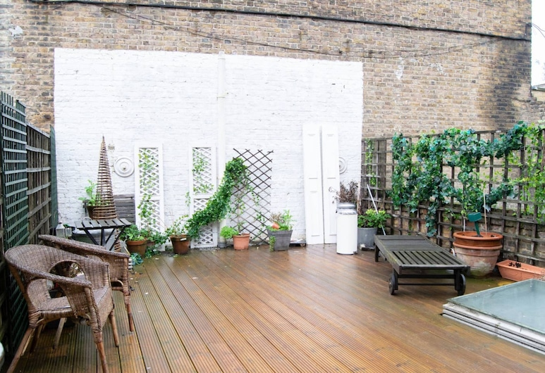 Lovely Flat on Portobello Road With Large Terrace, London, Balkon