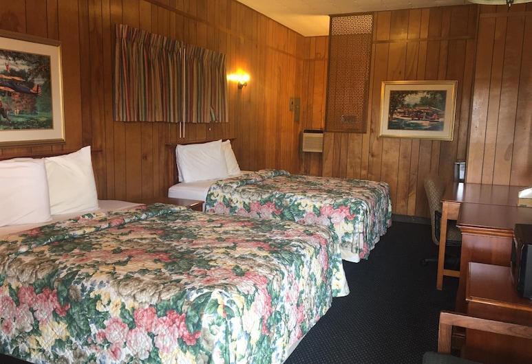 سكاي بالاس إن آند سويتس إلدورادو, إلدورادو, غرفة عادية - سريران مزدوجان - للمدخنين, غرفة نزلاء