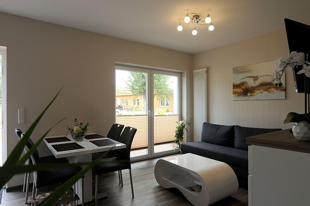 Apartmán, 2 ložnice (Möwe) - Obývací pokoj