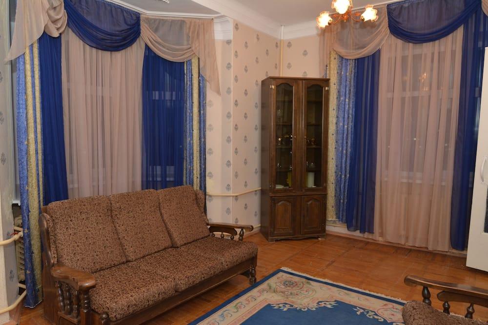 標準客房, 2 張單人床, 壁爐 - 客廳