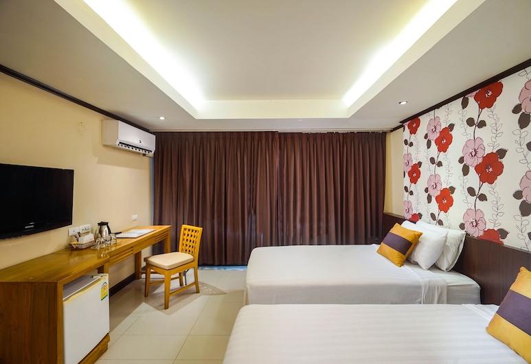 Ava Hotel Suvarnabhumi, Bangkok, Trendy Room Twin Bed, Pokoj
