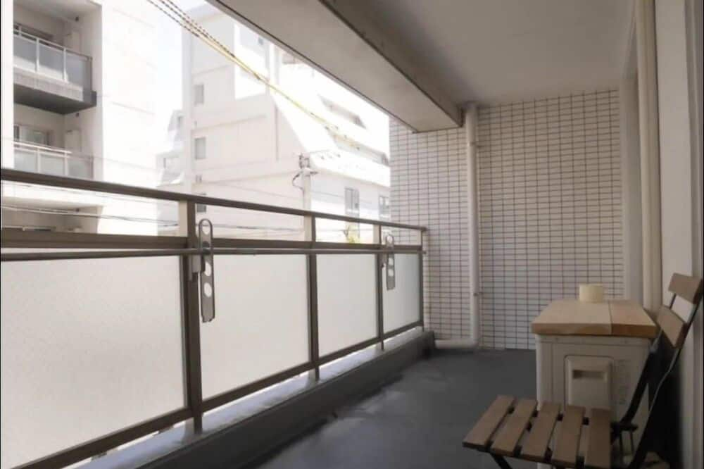 Chambre (up to 5 Guests, No.3) - Balcon
