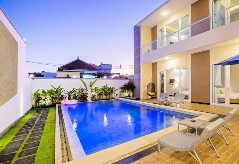 Gogo Villa Bukit Bali Jimbaran, 金巴兰, 室外游泳池