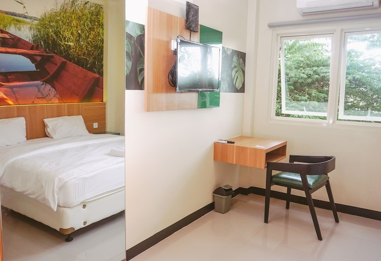 GreenHaus Inn, 苏腊巴亚, 豪华双人房, 客房