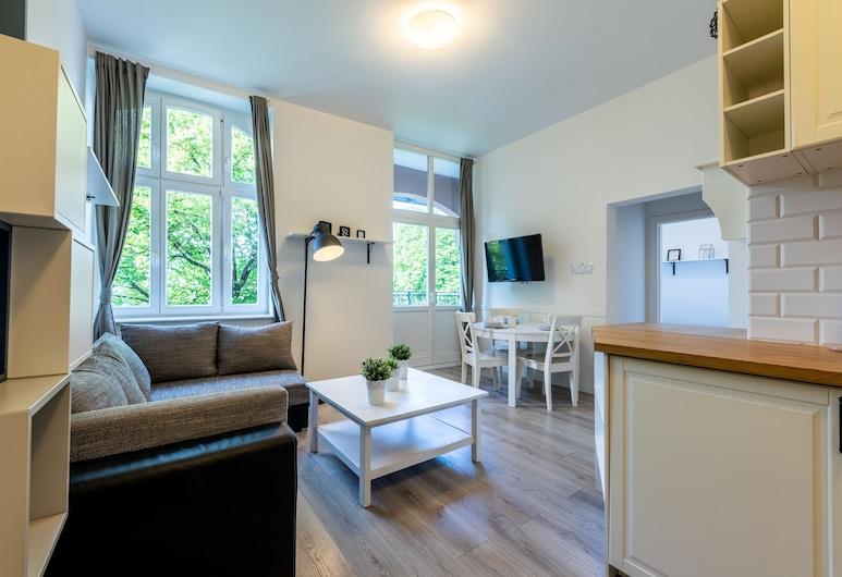 Victus Apartamenty - Penthouse 1, Sopot, Departamento, Sala de estar