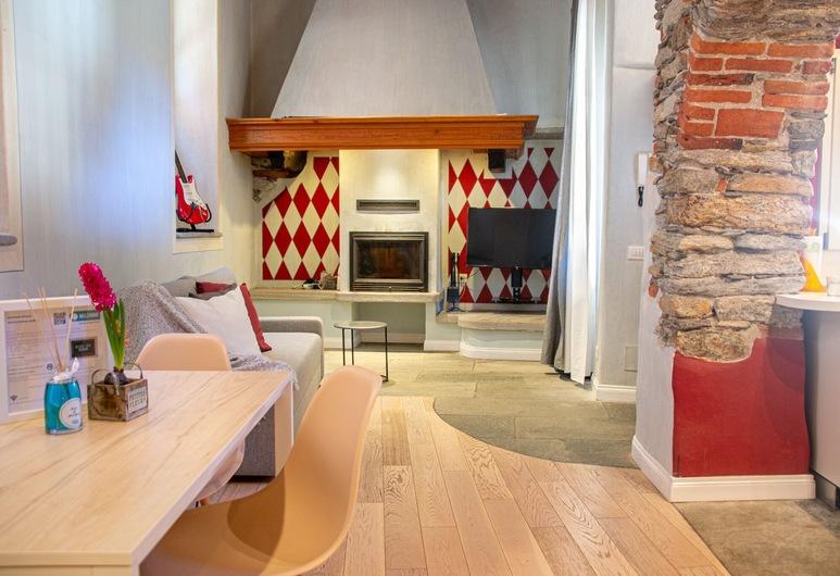 Casa Zangola - Welchome, Cannobio, Huoneisto, 1 makuuhuone (Casa Zangola), Oleskelualue