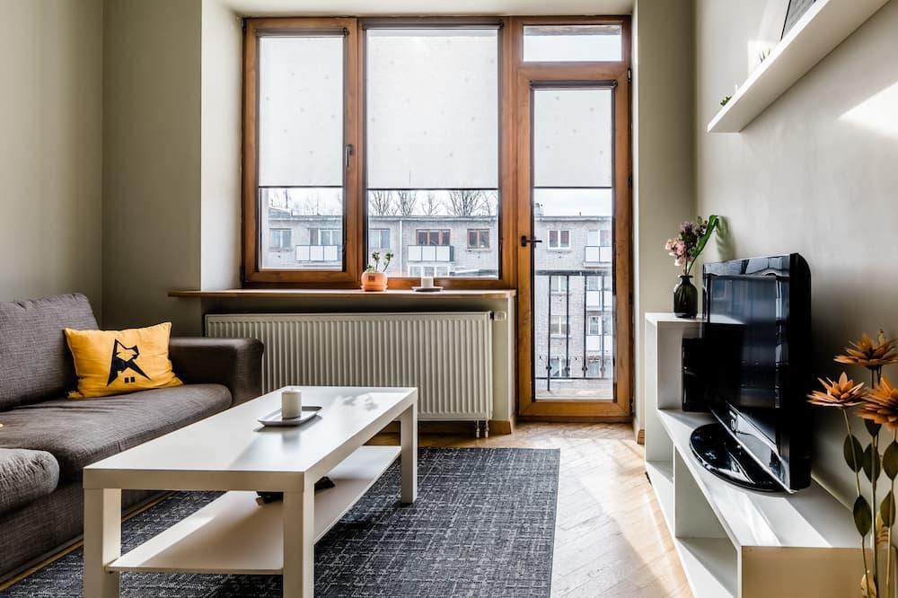 Apartmán typu City - Obývací pokoj