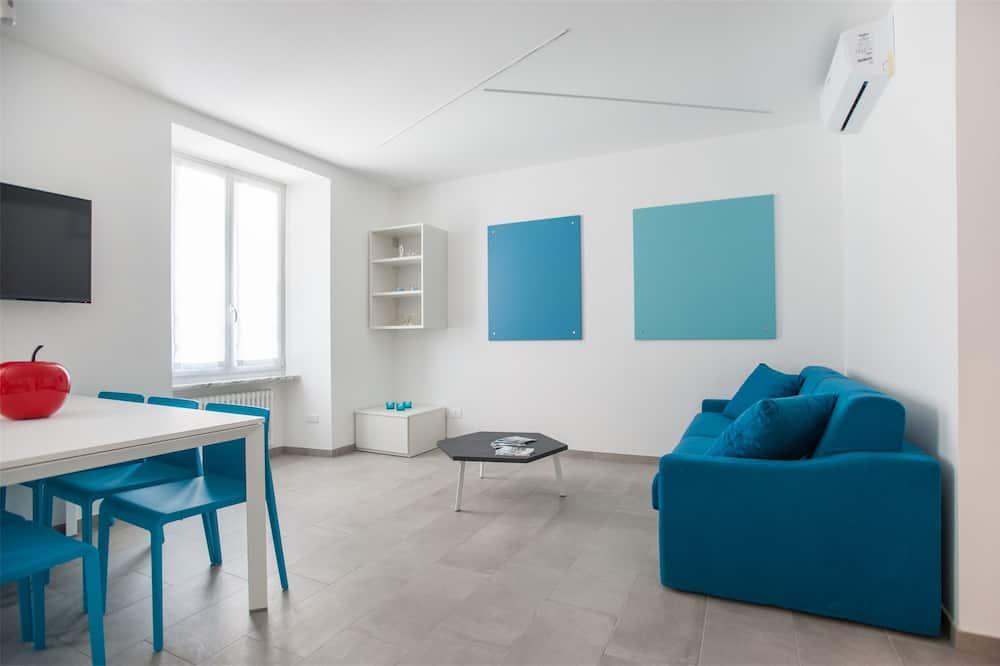 Apart Daire, 2 Yatak Odası (Azzurro) - Oturma Alanı