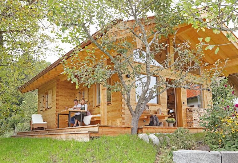 Chalet Oachkatzl, Bernau am Chiemsee, Domek, 1 sypialnia, widok na ogród, Taras/patio