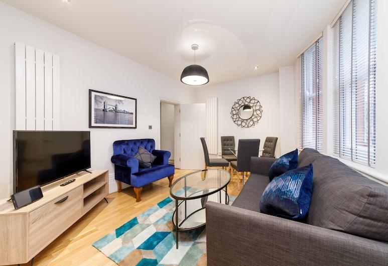 Garrick Mansions by Q Apartments, Londra, Apart Daire, 1 Yatak Odası, Oturma Alanı