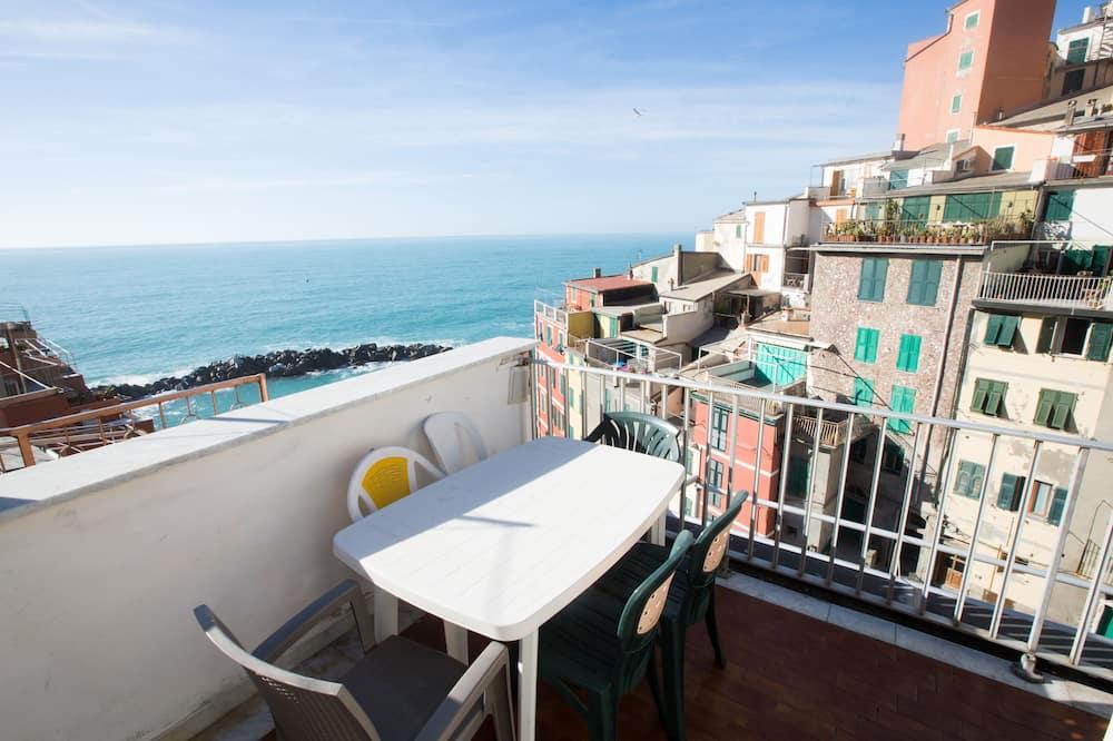 Panoramic Apart Daire, 2 Yatak Odası, Deniz Manzaralı, Denize Bakan (Atlantis) - Deniz/göl/nehir manzarası