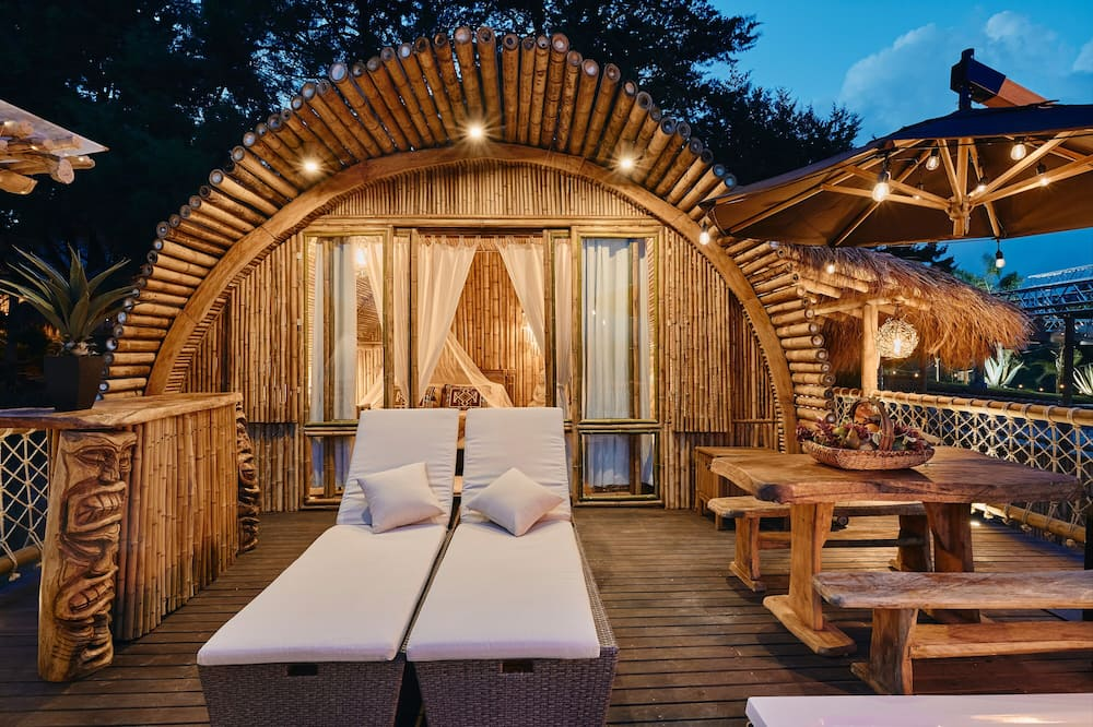 Bamboo Palace Supreme - Terraza o patio