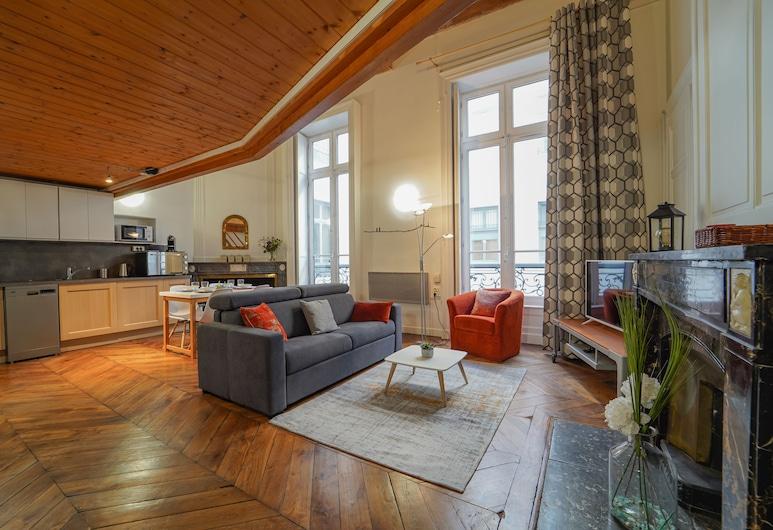 DIFY Petit Prince - Place Bellecour, Lione, Appartamento, Area soggiorno