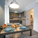 Apartamentai, 1 miegamasis, vidinis kiemas - Vakarienės kambaryje