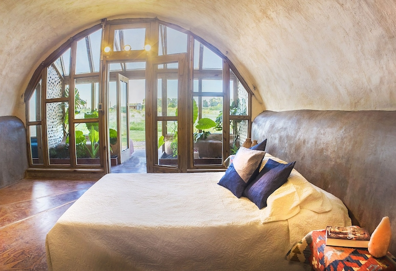 Caliu Earthship Hotel, 科洛尼亞 – 德爾薩克拉門托, 全景客房, 客房