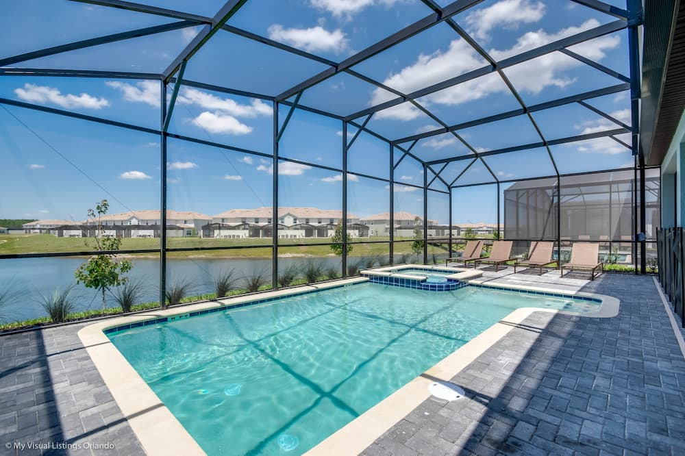 House (Luxury Lake View 8 BR Villa With Game) - Pool