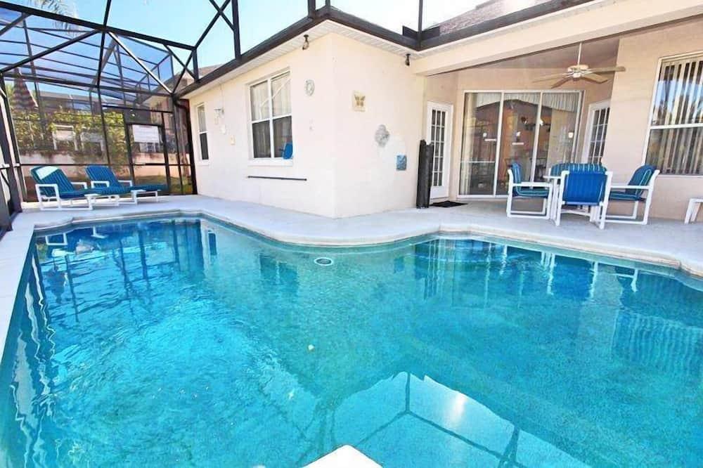 منزل (234OD 4 bed with games room ) - حمام سباحة