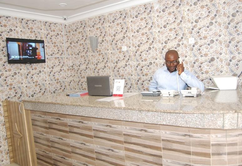 Allan Keri Hotel And Suites, Benin City, Rezeption