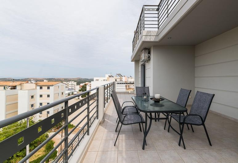 特瑞斯機場公寓飯店, 斯帕塔-阿迪米達, 樓中樓客房, 露台