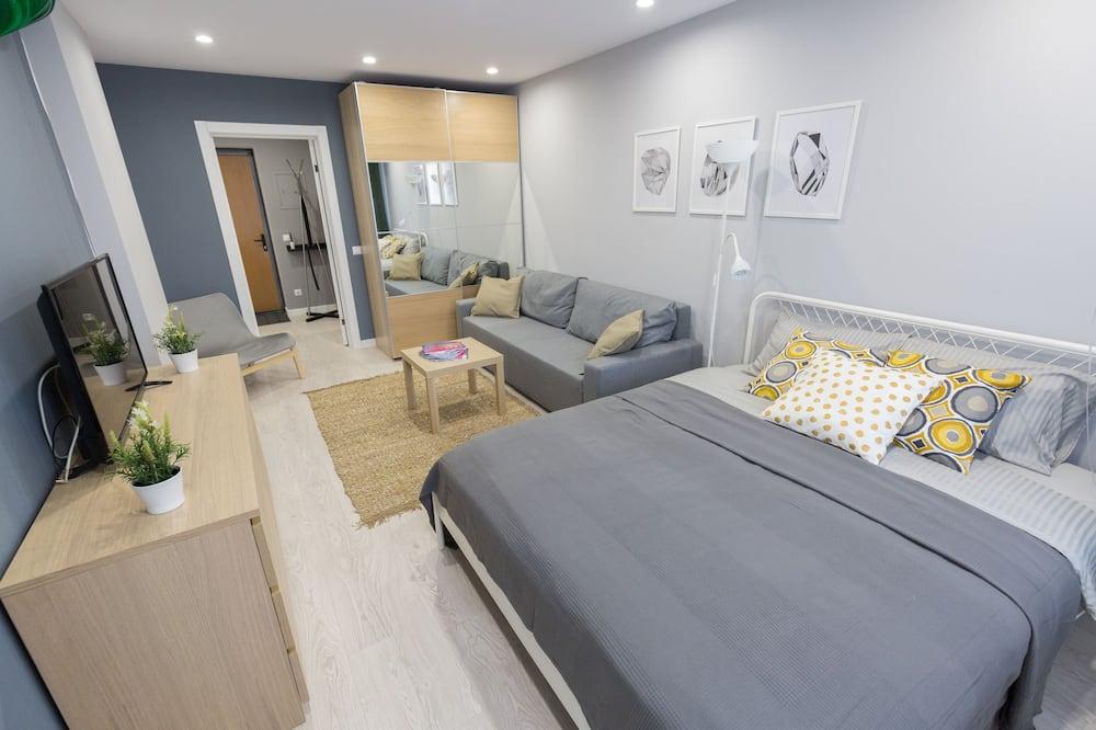 Design-Apartment - Wohnbereich