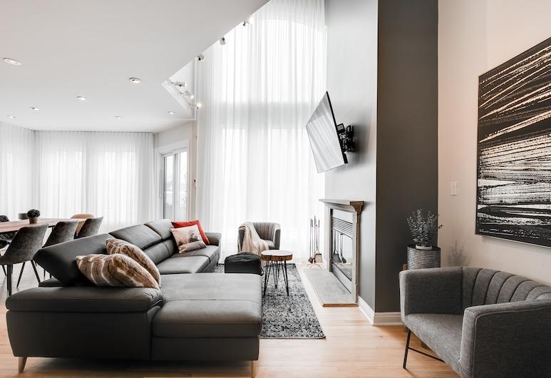 Le Luxury Living by KASANIA, مونت تريمبلان, شقة - ٤ غرف نوم - بمطبخ, منطقة المعيشة
