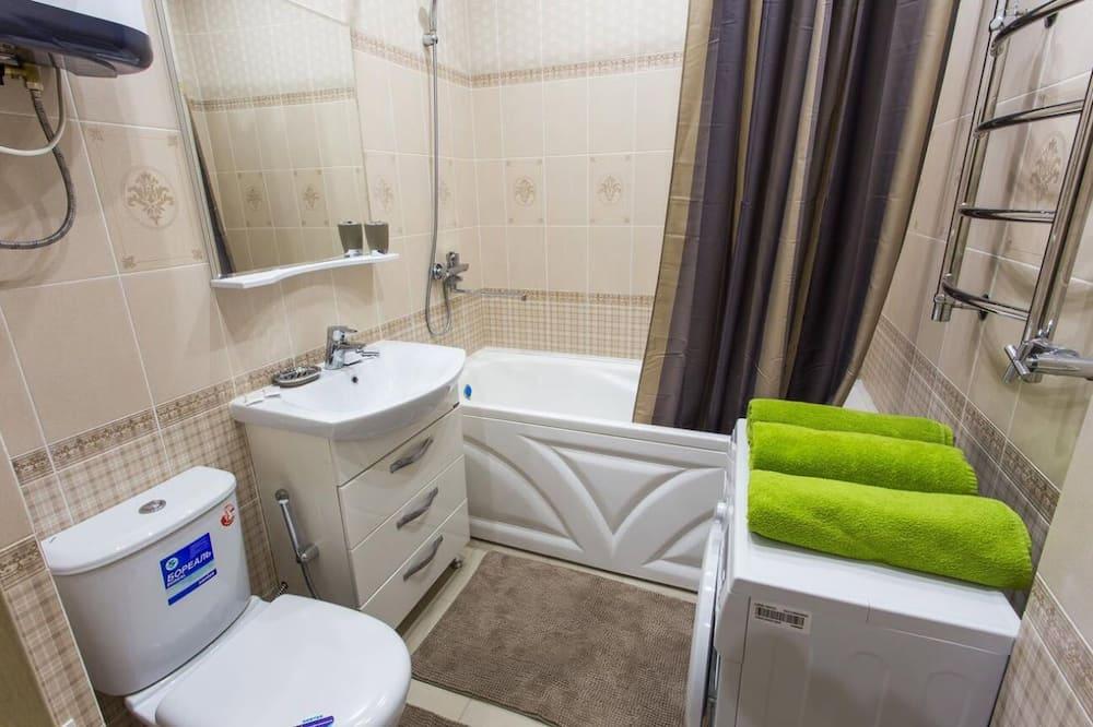 Dzīvokļnumurs, viena guļamistaba - Vannasistaba