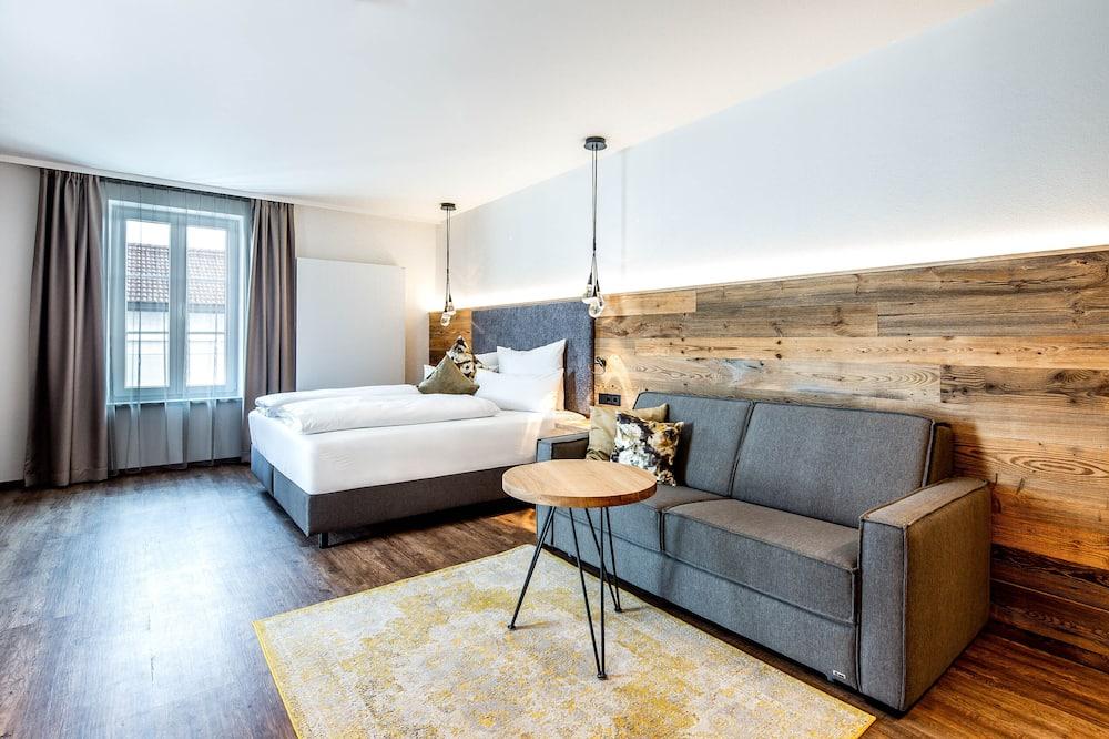 Suite estudio exclusiva - Sala de estar