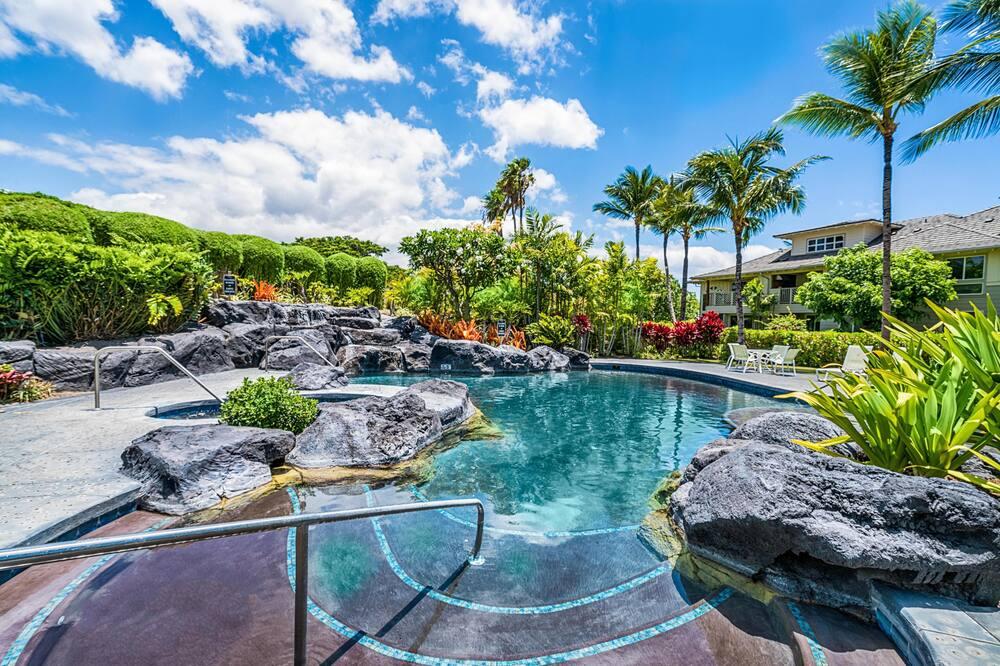 Appartement, Meerdere bedden (Waikoloa Beach Villas E33) - Zwembad