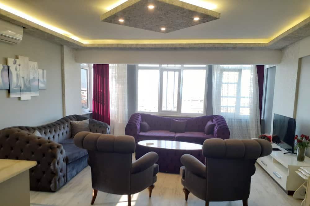 Apartment 2 Bedroom - Living Room