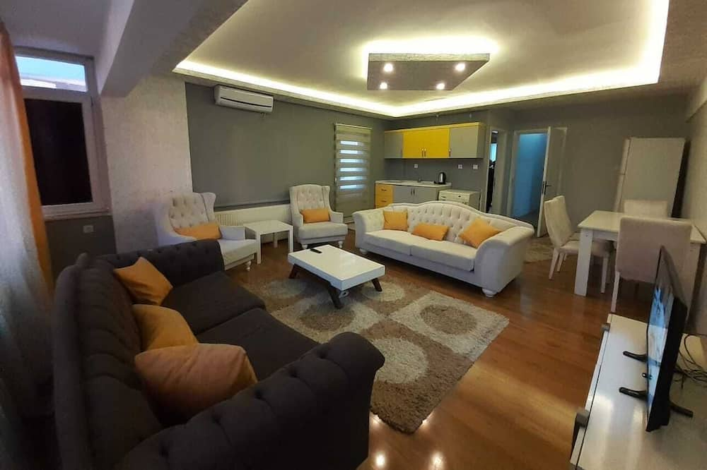 Connected 3 Bedroom Apartment - Living Room