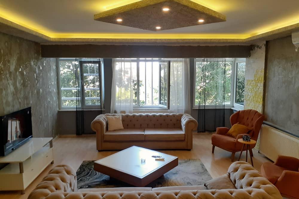 Apartment 1 Bedroom - Living Room