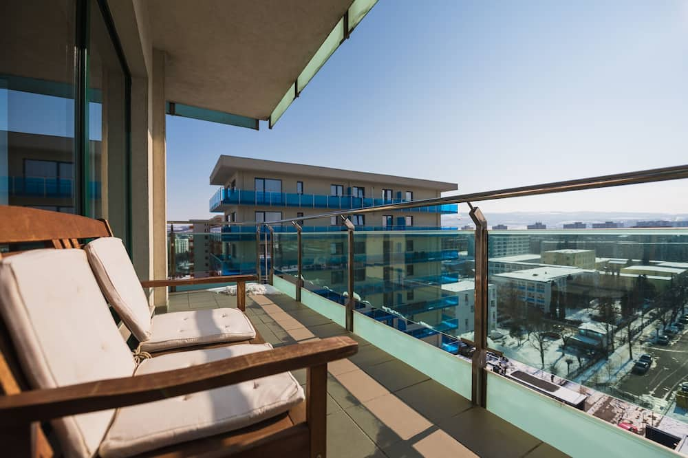 Exclusive-Apartment - Balkon