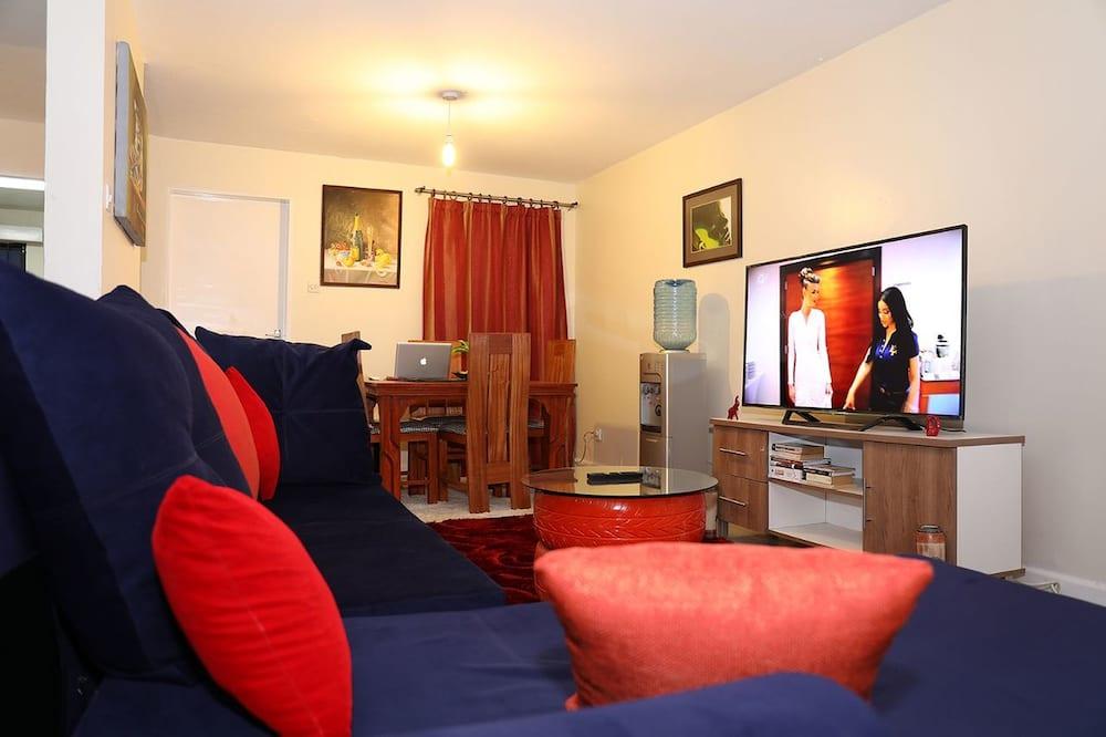Villa, 1 kétszemélyes ágy - Nappali