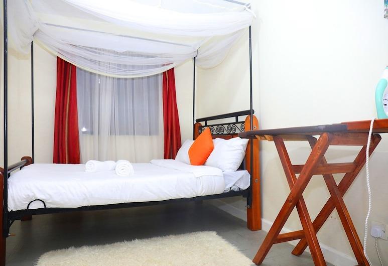 Nairobi Airport Mansionette, Найроби, Вилла, 1 двуспальная кровать, Номер