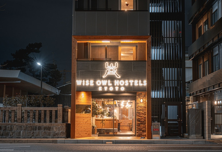 WISE OWL HOSTELS KYOTO, Kyoto, Hotel Front – Evening/Night