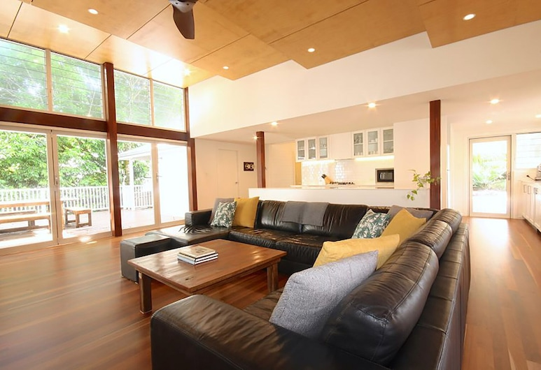 Cavvanbah Seaside Cottage, Byron Bay, Casa clásica, Sala de estar