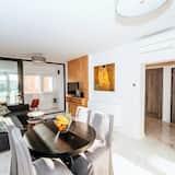 דירה מעוצבת - סלון