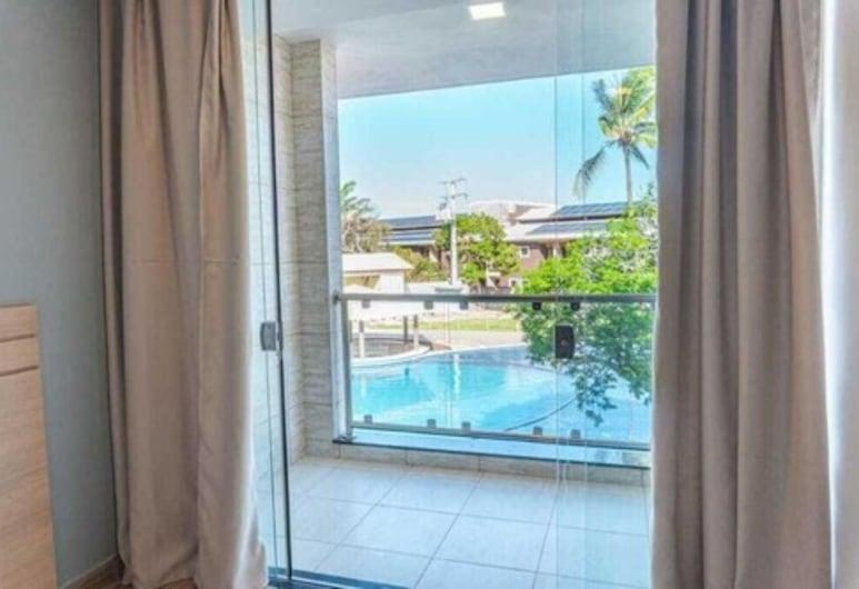JR Hotel, Porto Seguro, Quarto Quádruplo Superior, Varanda
