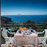 Apartman, 2 spavaće sobe, trijem, pogled na more - Balkon