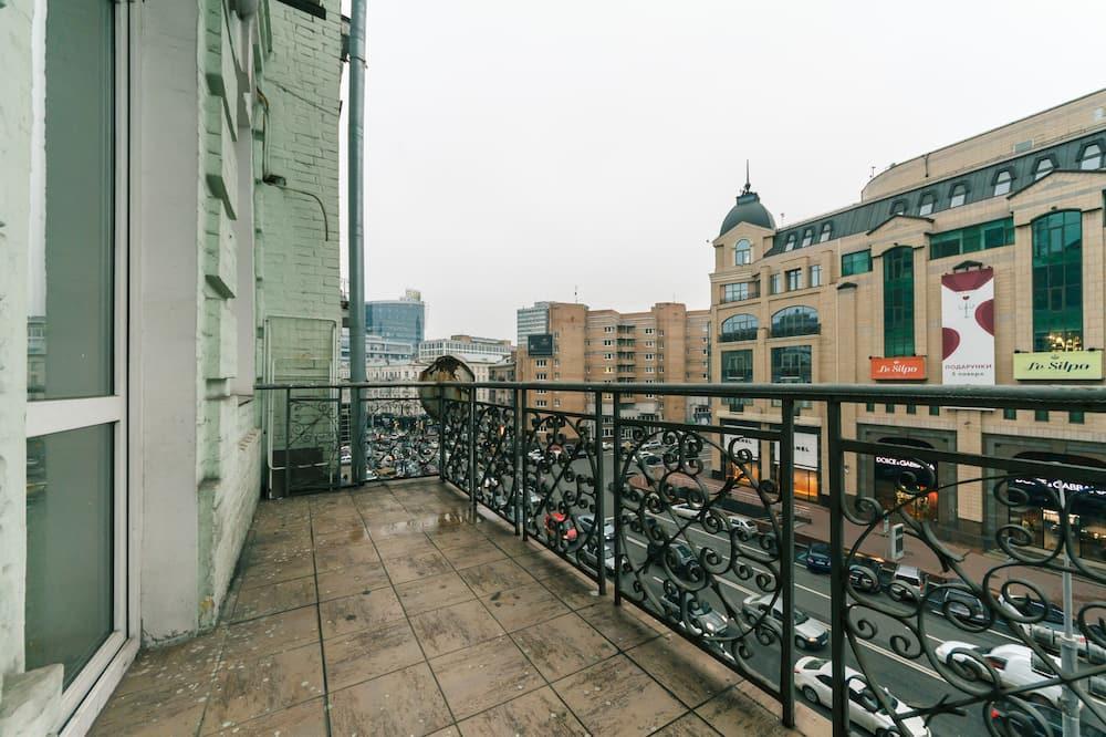 Apartmán, 1 veľké dvojlôžko s rozkladacou sedačkou - Balkón