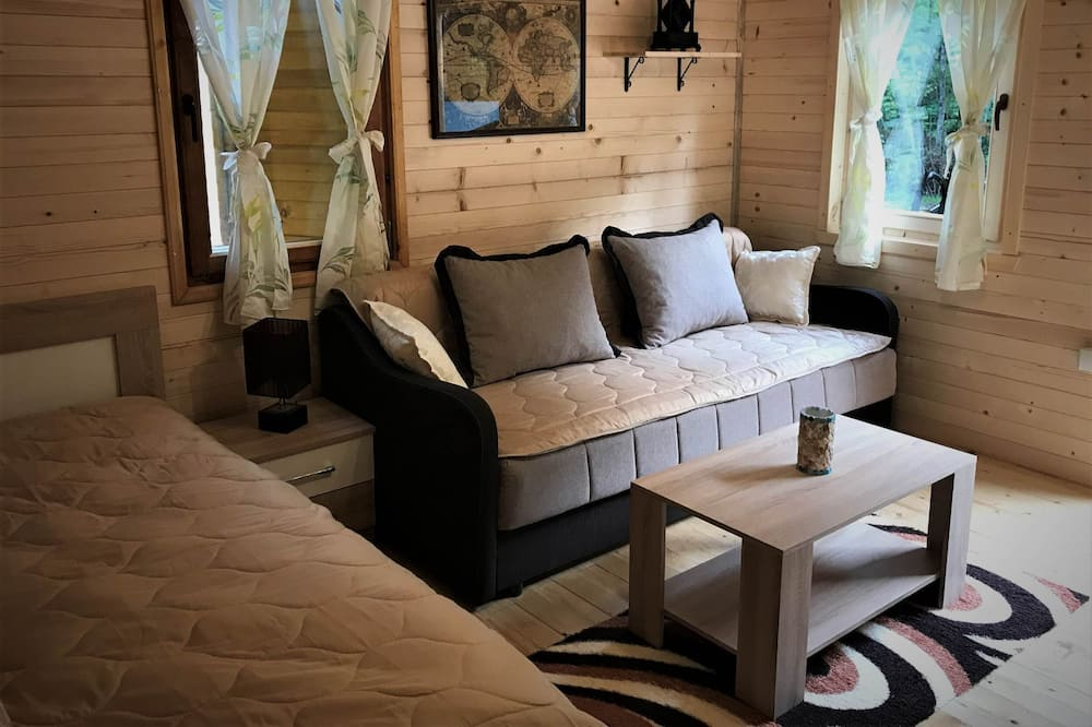 Superior Chalet - Living Area