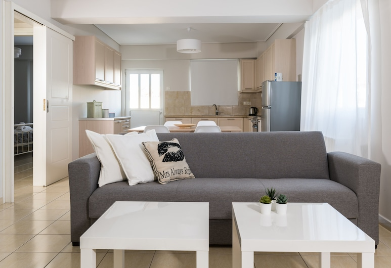 Elise Apartment Airport  by Airstay, Spata-Artemida, Superior Apartment, 2 Bedrooms, Living Area