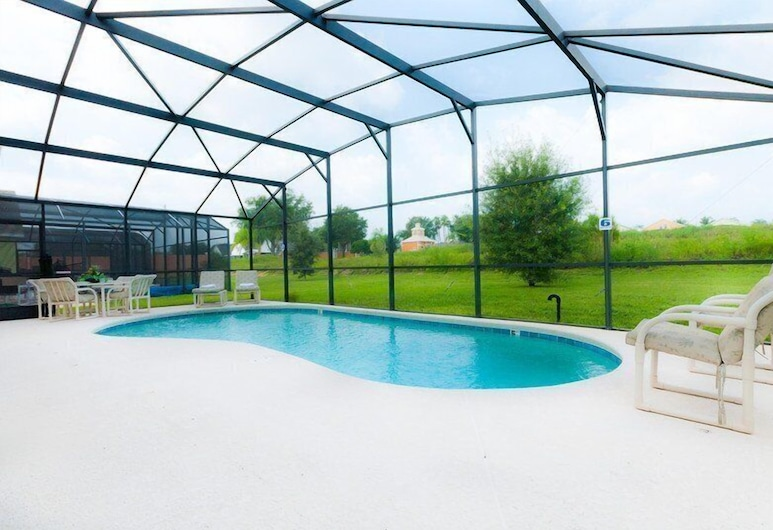 3BR Vizcay Pool Home 129 by OVRH, Davenport, Dom, 3 sypialnie, prywatny basen, Prywatny basen