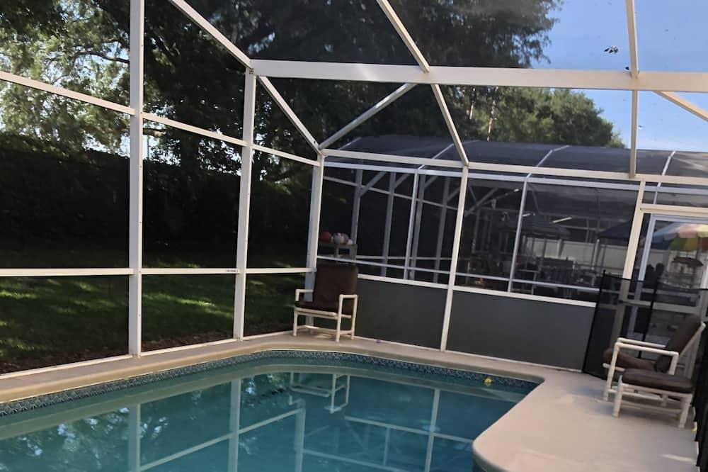 Rumah, 5 kamar tidur, kolam renang pribadi - Kolam renang pribadi