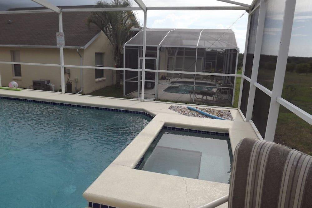 單棟房屋, 5 間臥室, 私人泳池 - 私人 SPA 浴缸
