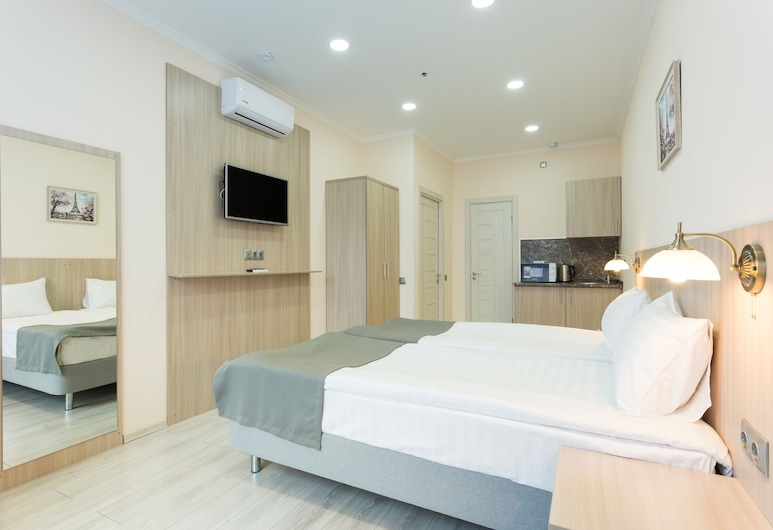 Hodynka Apart-Hotel, 莫斯科, 標準雙床房, 客房