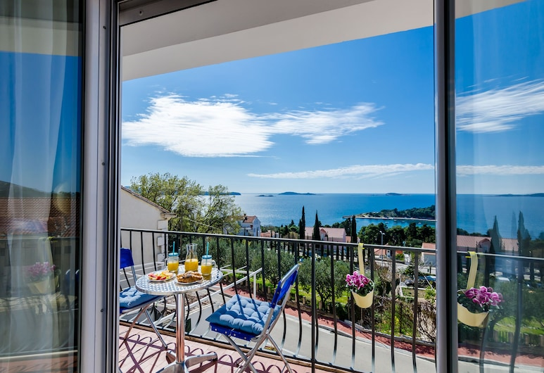 Apartments Knego, Zupa dubrovacka, Apartment (Comfort One Bedroom Apartment), Balcony