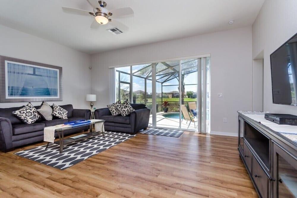 Vila - Obývací pokoj